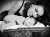 Santina Baby Bild mit Mama