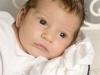 Santina Baby Portrait farbe Studio 4 Wochen