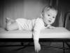 Santina Babyfoto Junge Studio schwarz/weiss
