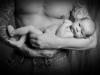 Santina Art Photographie | S/W Babyfoto Santina Bregenz