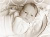 Santina Mädchen Baby Studio sepia
