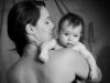 Babyfoto mit Mama Santina Bregenz