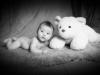 Babyfoto S/W Santina Bregenz