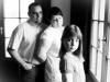 Gruppenbild Santina - Familie schwarz/weiss