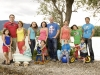 Gruppenbild Santina - Familie am See