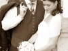 Santina Hochzeit romantisch sepia