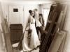 Santina Art Photographie | Hochzeit Sepia altes Gebäude