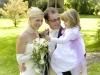 Santina Hochzeitsfoto im Grünen
